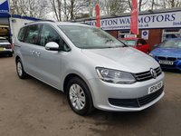 USED 2014 14 VOLKSWAGEN SHARAN 2.0 SE TDI DSG 5d AUTO 142 BHP 0%  FINANCE AVAILABLE ON THIS CAR PLEASE CALL 01204 393 181