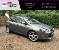 USED 2012 61 FORD FOCUS 1.6 TITANIUM 5d 148 BHP 2 OWNERS FULL SERVICE HISTORY PILOT PARK ASSIST ADAPTIVE CRUISE