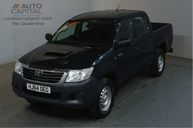 2014 64 TOYOTA HI-LUX 2.5 ACTIVE 4X4 D-4D DCB 142 BHP AIR CON PICK UP £9,990+VAT AIR CONDITIONING