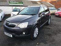 USED 2013 13 VAUXHALL ANTARA 2.2 EXCLUSIV CDTI S/S 5d 161 BHP  FULL SERVICE HISTORY(6 STAMPS)-1 OWNER-DIESEL-HEATED SEATS-ALLOYS-PARKING SENSORS FRONT AND REAR