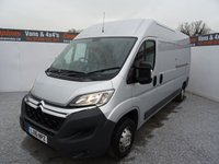 2016 CITROEN RELAY 2.2 35 L3H2 ENTERPRISE HDI 1d 129 BHP £11995.00