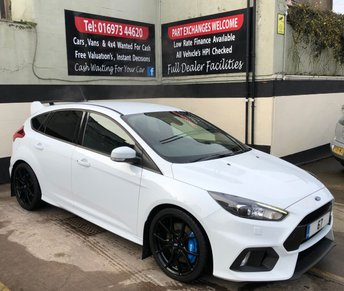 2017 FORD FOCUS RS 2.3 5DR 345 BHP, 5 YEAR WARRANTY, HEATED STEERING WHEEL £29850.00