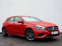 USED 2013 63 MERCEDES-BENZ A CLASS 1.8 A180 CDI BLUEEFFICIENCY SPORT 5d AUTO 109 BHP £30 RFL......SATELLITE NAVIGATION with HEATED LEATHER ELECTRIC MEMORY SEATS......