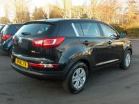 USED 2014 14 KIA SPORTAGE 1.7 CRDI 1 5d 114 BHP BALANCE OF MANUFACTURERS SEVEN YEAR WARRANTY