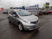 2013 NISSAN NOTE 1.2 ACENTA 5d 80 BHP £6295.00