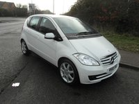 USED 2010 10 MERCEDES-BENZ A CLASS A160 1.5 BlueEFFICIENCY Classic SE Petrol 2 owners from new. Low mileage.
