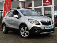 USED 2014 64 VAUXHALL MOKKA 1.7 EXCLUSIV CDTI S/S 5d 128 BHP STUNNING, 1 OWNER, 4X4, VAUXHALL MOKKA EXCLUSIVE 1.7 CDTI, 130 BHP. Finished in SOVEREIGN SILVER METALLIC with contrasting Grey Cloth trim. This is one of the most popular in the compact SUV market together with its premium package and 4 wheel drive, its a must have family suv. Features include, DAB, B/Tooth, Front and Rear park Sensors, Cruise Control and much more. Evans Halshaw Vauxhall dealer serviced at 14011 milkes, 27398 miles, 43520 miles and at 54298 miles on 19/12/2018.