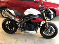 USED 2016 16 TRIUMPH SPEED TRIPLE 1050cc SPEED TRIPLE R 1050