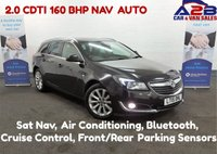 2015 VAUXHALL INSIGNIA 2.0 ELITE CDTI 5d AUTO 160 BHP, Sat Nav, Xenon Headlights, Air Conditioning, Bluetooth, Cruise Control, Front and Rear Parking Sensors  £9000.00