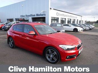 2017 BMW 1 SERIES 2.0 118D SPORT 5d 147 BHP £SOLD
