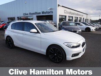 2017 BMW 1 SERIES 1.5 116D SE 5d 114 BHP £13995.00