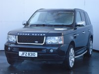 USED 2007 LAND ROVER RANGE ROVER SPORT 2.7 TDV6 SPORT HSE 5d 188 BHP REALLY GOOD SPEC CAR IN GREAT CONDITION, SIDE SPEPS, SATELLITE NAVIGATION, REAR PRIVACY GLASS, HEATED LEATHER TRIM