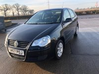 USED 2007 57 VOLKSWAGEN POLO 1.4 SE 5d 79 BHP