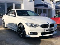 USED 2014 14 BMW 4 SERIES 2.0 420D M SPORT 2d AUTO 181 BHP COMES WITH 6 MONTHS WARRANTY