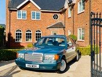 1992 MERCEDES-BENZ SE CLASS 3.0 300 SE 4d AUTO £7900.00