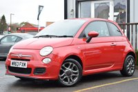 USED 2013 63 FIAT 500 1.2 S 3d 69 BHP Full Main Dealer History 6 Stamps.