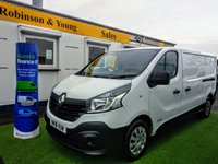 USED 2016 16 RENAULT TRAFIC 1.6 LL29 BUSINESS DCI S/R P/V 1d 115 BHP LONG WHEELBASE