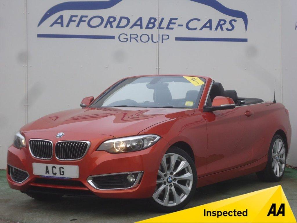 USED 2015 15 BMW 2 SERIES 2.0 220D LUXURY 2d AUTO 188 BHP