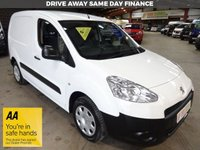 USED 2014 14 PEUGEOT PARTNER 1.6 E-HDI SE L1 605 ** AUTOMATIC ** 90 BHP VAN * AIR CON * '' YOU'RE IN SAFE HANDS ''    WITH THE AA DEALER PROMISE