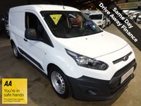 USED 2015 15 FORD TRANSIT CONNECT 1.6 200 P/V SWB VAN - LOW MILEAGE '' YOU'RE IN SAFE HANDS ''   WITH THE AA DEALER PROMISE