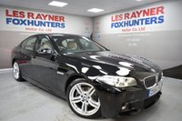 USED 2014 64 BMW 5 SERIES 2.0 520D M SPORT 4d 188 BHP 19in Alloys, Xenon headlights, Cruise control, Bluetooth, Sat Nav
