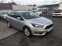 2015 FORD FOCUS 1.6 ZETEC TDCI 5d 114 BHP  5dr estate low road tax £8950.00