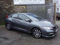 USED 2013 62 HONDA CIVIC 1.6 I-DTEC ES 5d 118 BHP
