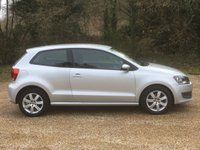 USED 2010 10 VOLKSWAGEN POLO 1.2 SE 3d 70 BHP