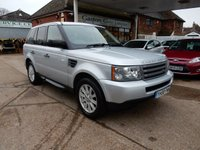 2008 LAND ROVER RANGE ROVER SPORT 2.7 TDV6 SPORT S LIKE HSE 5d AUTO 188 BHP £8990.00