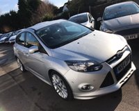 USED 2014 64 FORD FOCUS 1.6 ZETEC S NAVIGATOR ECOBOOST 180 BHP THIS VEHICLE IS AT SITE 1 - TO VIEW CALL US ON 01903 892224
