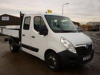 2015 VAUXHALL MOVANO 2.3 R3500 L3H1 CDTI CRC TIPPER DRW 1d 125 BHP £12590.00