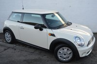 USED 2009 59 MINI HATCH FIRST 1.4 FIRST 3d 75 BHP CHEAP CAR WITH LOW MILEAGE