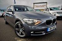 2014 BMW 1 SERIES 2.0 116D SPORT 5DR 114 BHP £9995.00