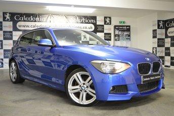2013 BMW 1 SERIES 2.0 120D M SPORT 3d 181 BHP £9250.00