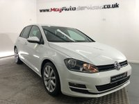 USED 2013 13 VOLKSWAGEN GOLF 2.0 GT TDI BLUEMOTION TECHNOLOGY 5d 148 BHP