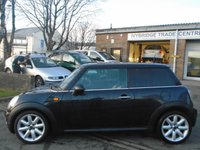 USED 2007 57 MINI HATCH COOPER 1.6 COOPER 3d 118 BHP GREAT CONDITION + MOT JAN 2020