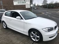 2010 BMW 1 SERIES 2.0 116I SPORT 3d 121 BHP £SOLD
