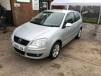 2008 VOLKSWAGEN POLO 1.4 MATCH 3d AUTO 79 BHP £4999.00