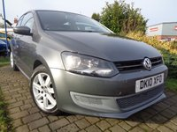 USED 2010 10 VOLKSWAGEN POLO 1.6 SE TDI 3d 74 BHP **Full Service History 8 Services £30 Yearly Road Tax 12 Months Mot**