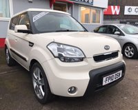 USED 2010 10 KIA SOUL 1.6 SHAKER CRDI 5d 127 BHP **Low Mileage Full Service History 8 Stamps 12 Months Mot**