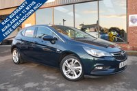 USED 2016 66 VAUXHALL ASTRA 1.6 SRI CDTI 5d AUTO 134 BHP LED DAYTIME RUNNING LIGHTS, 62 MILES PER GALLON, £30 ROAD TAX, LOW RUNNING COSTS