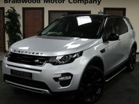 2015 LAND ROVER DISCOVERY SPORT 2.2 SD4 HSE 5d AUTO 190 BHP £23250.00