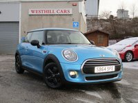 2014 MINI HATCH ONE 1.5 ONE D 3d 94 BHP £7950.00