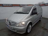 USED 2014 14 MERCEDES-BENZ VITO 2.1 113 CDI 1d 136 BHP MERCEDES VITO LWB TWIN SLIDING DOORS AIR CON NO VAT NO VAT NO VAT