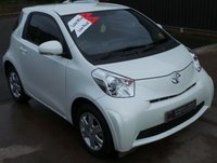 USED 2009 59 TOYOTA IQ 1.0 VVT-I IQ 3d 68 BHP Toyota +1 Owner - Low Miles - 6 Services - FREE Road Tax