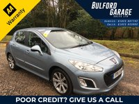USED 2011 11 PEUGEOT 308 1.6 E-HDI ACTIVE 5d AUTO 112 BHP