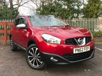 USED 2012 62 NISSAN QASHQAI 1.5 dCi N-TEC+ 2WD 5dr Service History, Low Mileage
