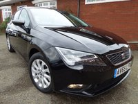 2015 SEAT LEON 1.6 TDI SE TECHNOLOGY 5d 110 BHP Extra Spec Car £9700.00