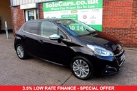 USED 2015 65 PEUGEOT 208 1.2 ALLURE 3d 82 BHP +ONE OWNER +FREE TAX +TOP SPEC