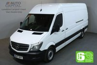 USED 2017 17 MERCEDES-BENZ SPRINTER 2.1 314CDI 140 BHP LWB H/ROOF EURO 6 PANEL VAN FRONT AND REAR PARKING SENSORS